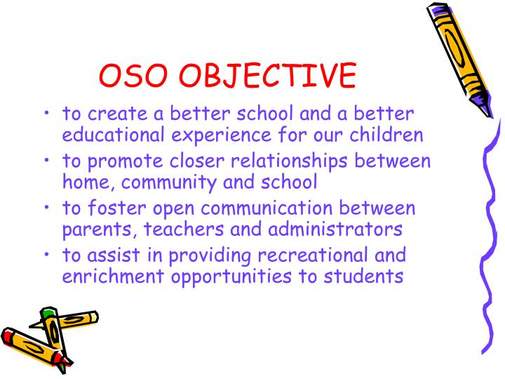 Oso objective