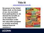 title ix www sexualviolence uconn edu