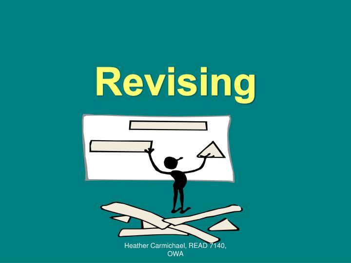 Revising