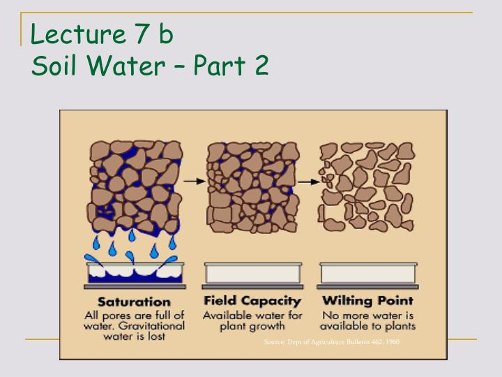 lecture 7 b soil water part 2 n.