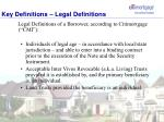 key definitions legal definitions