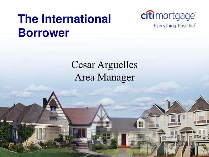 the international borrower n.