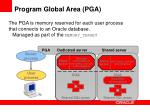 program global area pga