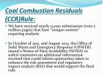 coal combustion residuals ccr rule3