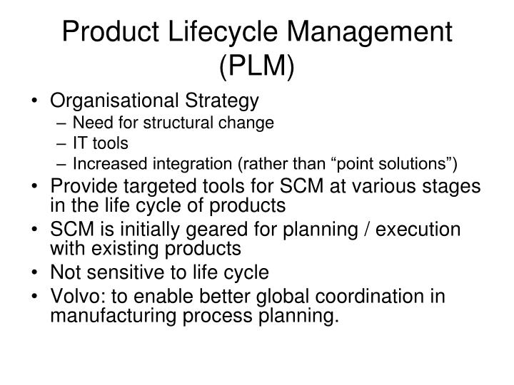 product lifecycle management plm n.