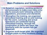 main problems and solutions2