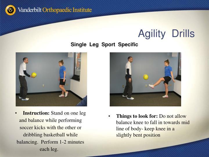 Single  Leg  Sport  Specific