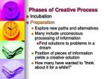 phases of creative process1