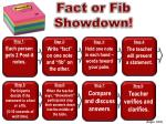 fact or fib showdown1