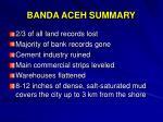 banda aceh summary1