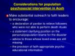 considerations for population psychosocial intervention in aceh2