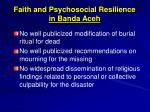 faith and psychosocial resilience in banda aceh1
