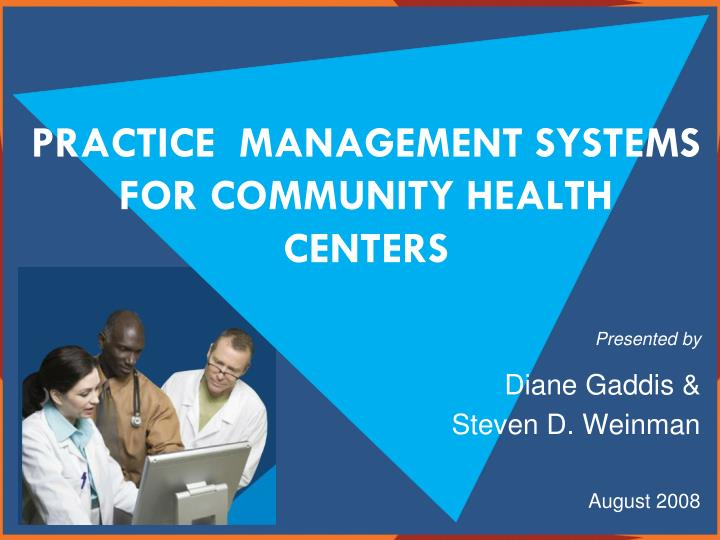 practice management systems for community health centers n.