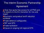 the interim economic partnership agreement1