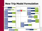 new trip model formulation