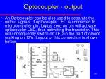 optocoupler output