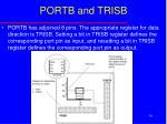 portb and trisb
