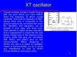xt oscillator