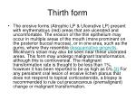 thirth form