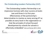 the outstanding leaders partnership olp1