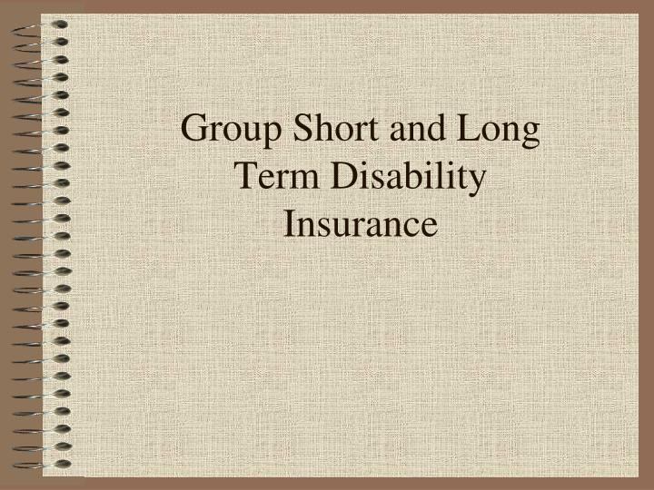 group short and long term disability insurance n.