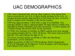 uac demographics
