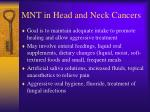 mnt in head and neck cancers1