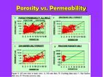 porosity vs permeability