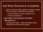 soil water potential availability2