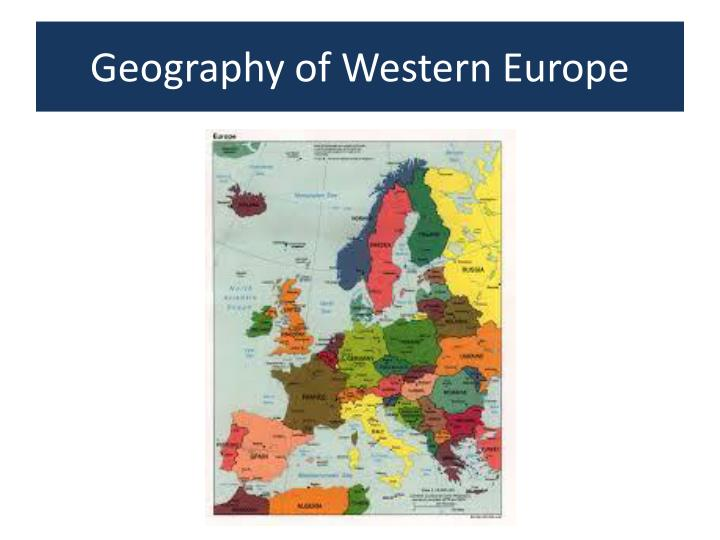 geography of western europe n.