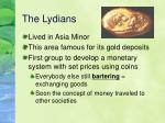 the lydians