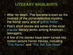 literary highlights