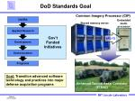 dod standards goal
