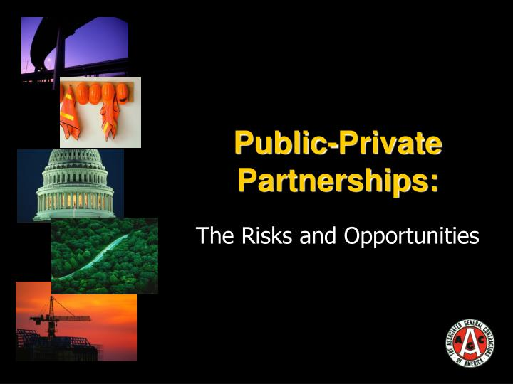 public private partnerships n.