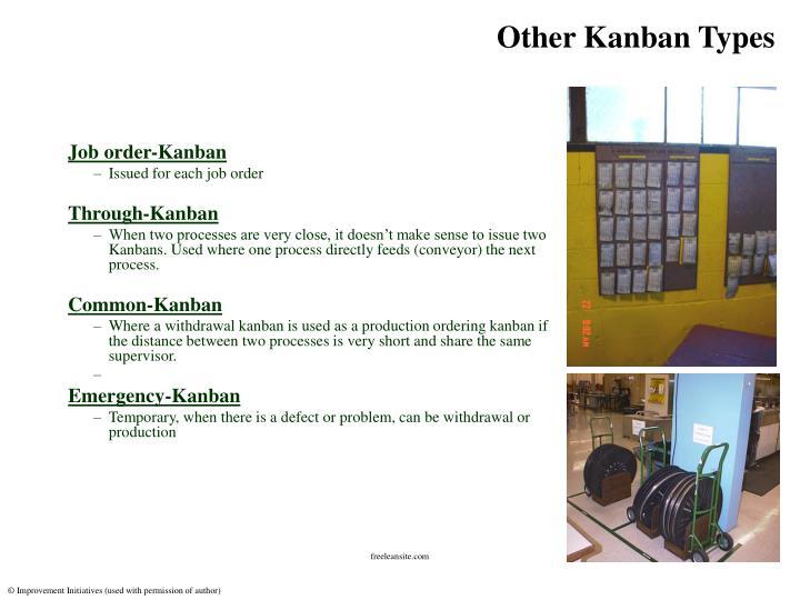 Other Kanban Types