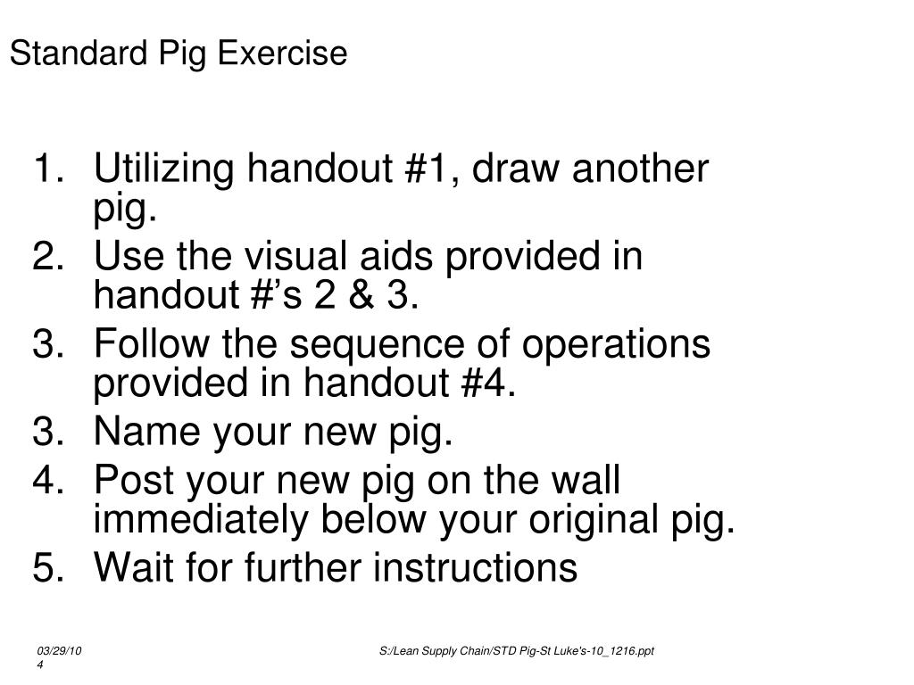 PPT - Standard PIG PowerPoint Presentation, free download - ID:6694049