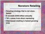 nonstore retailing