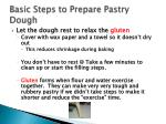 basic steps to prepare pastry dough2