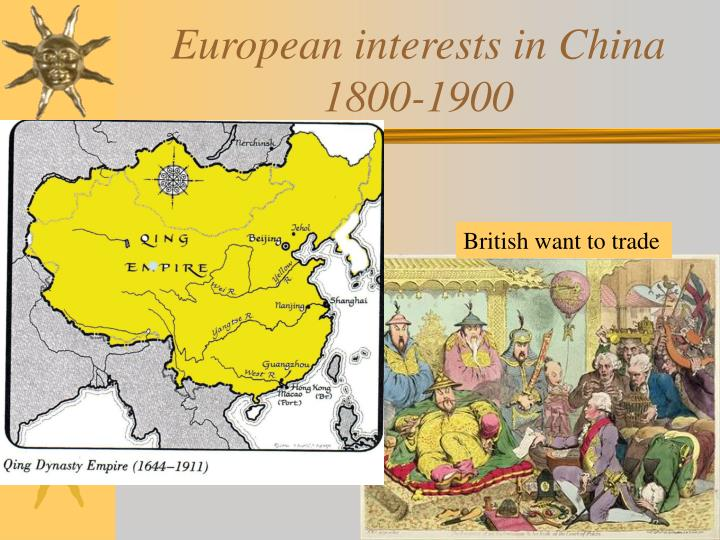 european interests in china 1800 1900 n.