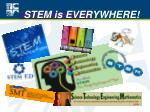stem is everywhere
