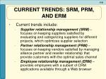 current trends srm prm and erm