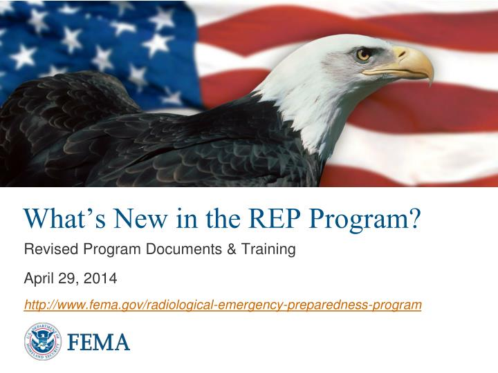 what s new in the rep program n.