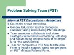 problem solving team pst2