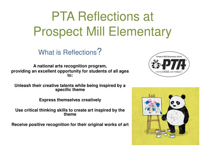 pta reflections at prospect mill elementary n.