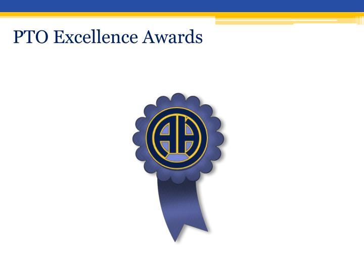 PTO Excellence Awards