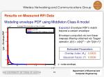 results on measured rfi data2