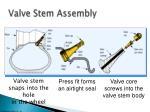 valve stem assembly