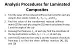 analysis procedures for laminated composites