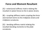 force and moment resultant2