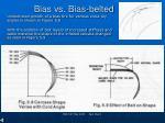 bias vs bias belted
